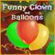 Funny Clown vs Balloons