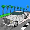 Monte Carlo Racing Coloring Game