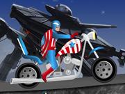 Captain America Harley Ride